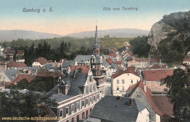 Camburg, Blick vom Turmberg