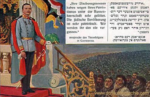 Ansprache des Thronfolgers in Czernowitz