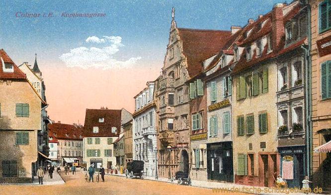 Colmar, Kaufhausgasse