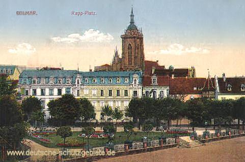Colmar, Rapp-Platz