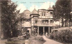 Corbach, Villa Kümmell (Gartenansicht)