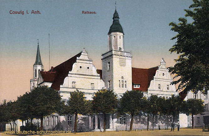 Coswig in Anhalt, Rathaus
