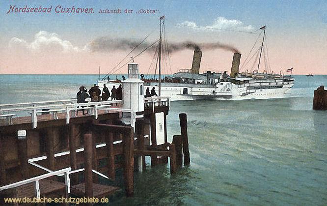 Cuxhaven, Ankunft der Cobra