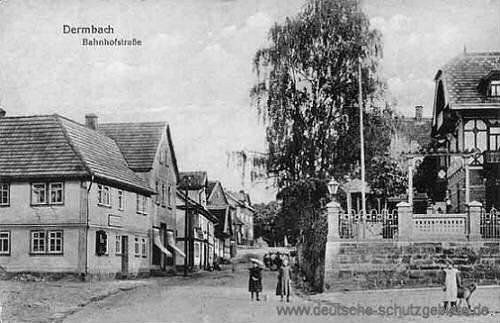 Dermbach, Bahnhofstraße