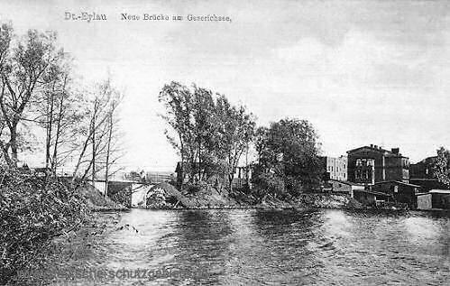 Deutsch-Eylau, Neue Brücke am Geserichsee