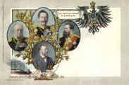 Deutsche Kaiser und Generalpostmeister Heinrich von Stephan