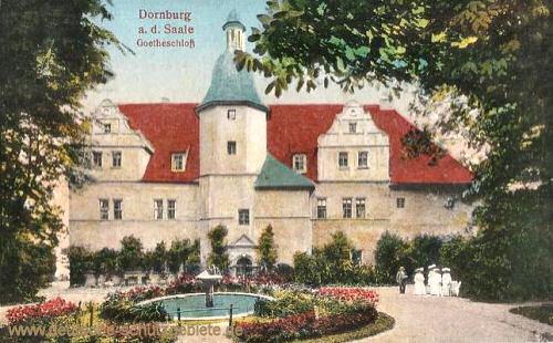 Dornburg, Goetheschloss