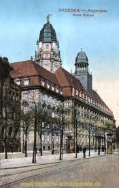 Dresden, Ringstraße, Neues Rathaus