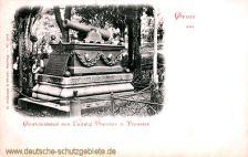Eckernförde, Grabmal Theodor von Preussen