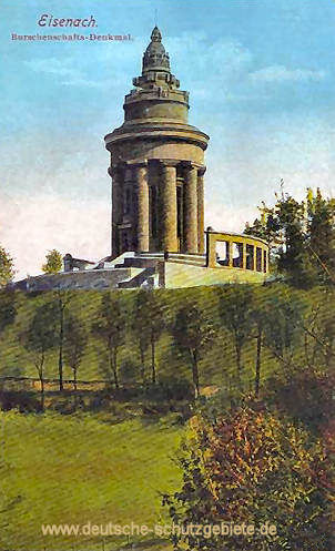 Eisenach, Burschenschafts-Denkmal
