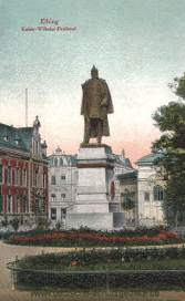 Elbing, Kaiser-Wilhelm-Denkmal