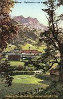 Engelberg, Rigidalstöcke und Kloster