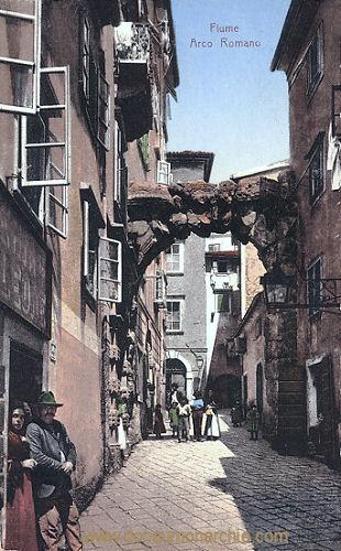 Fiume, Arco Romano
