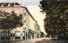 Frankfurt a. O., Hotel Prinz von Preußen - Fürstenwalder Straße