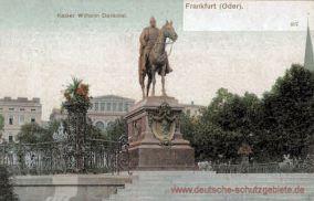 Frankfurt a. O., Kaiser Wilhelm Denkmal