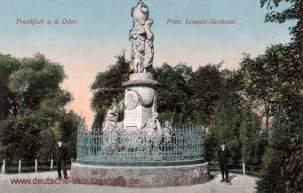 Frankfurt a. O., Prinz Leopold-Denkmal