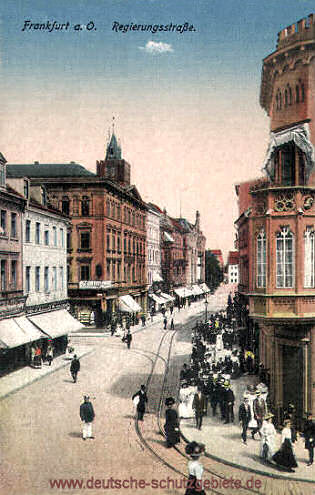 Frankfurt a. O., Regierungsstraße