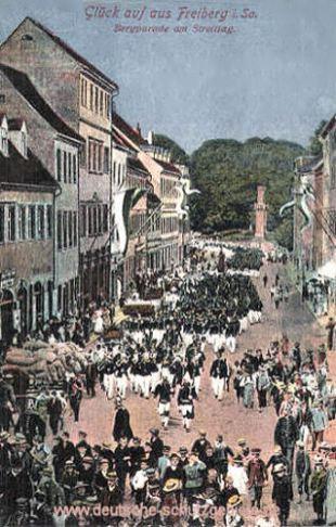 Freiberg, Bergparade am Streittag