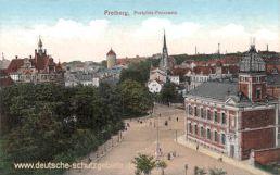 Freiberg, Postplatz-Panorama