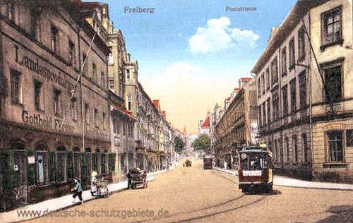 Freiberg, Poststraße