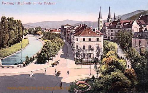 Freiburg i. B., Partie an der Dreisam