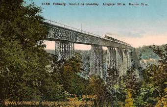 Fribourg, Viaduc de Grandfey