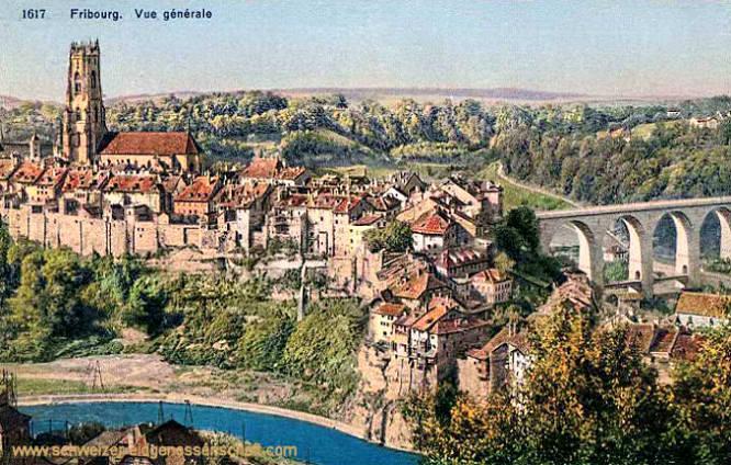 Fribourg, Vue générale
