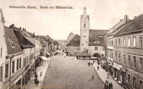 Fürstenwalde, Markt und Mühlenstraße