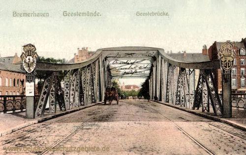 Bremerhaven-Geestemünde, Geestebrücke