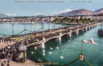 Genève, Concours International de Musique