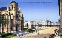 Genève, Eglise de Notre-Dame et Gare de Cornavin
