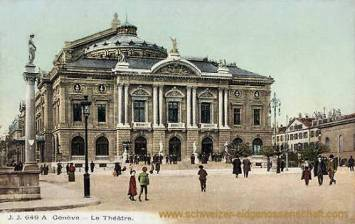 Genève, Le Théâtre