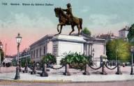 Genève, Statue du Général Dufour