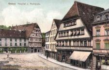 Gmünd, Hospital und Marktplatz