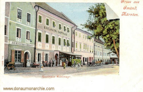 Gmünd in Kärnten, Gasthaus Kohlmayr