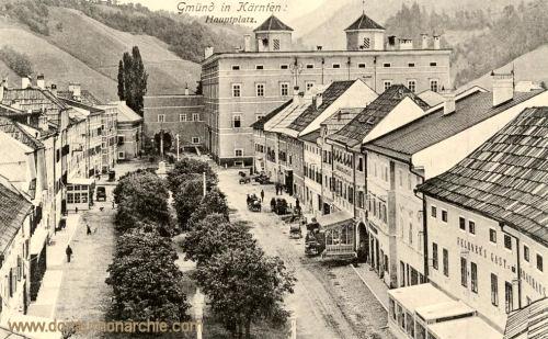 Gmünd in Kärnten, Hauptplatz