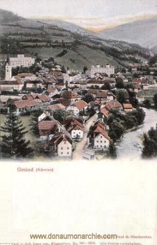 Gmünd in Kärnten, Stadtansicht