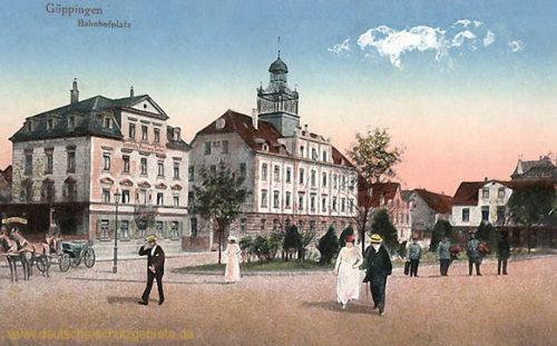 Göppingen, Bahnhofplatz