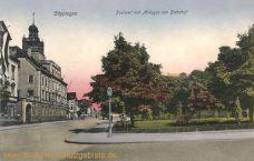 Göppingen, Postamt mit Anlagen am Bahnhof
