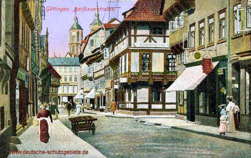 Göttingen, Barfüsserstraße