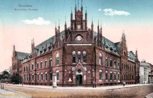 Graudenz, Kaiserliches Postamt