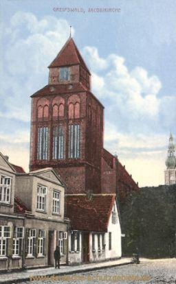 Greifswald, Jacobikirche