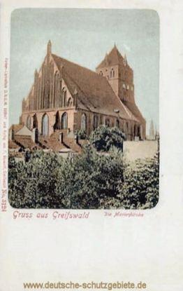 Greifswald, Marienkirche