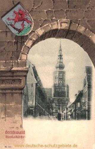 Greifswald, Nicolaikirche