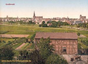Greifswald, Stadtansicht
