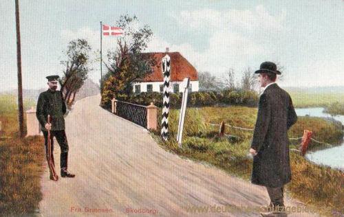 deutsch-dänische Grenze bei Skodberg