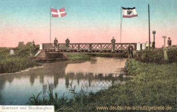 deutsch-dänische Grenze durch Skodberghus