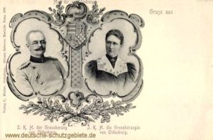 Großherzog und Großherzogin von Oldenburg