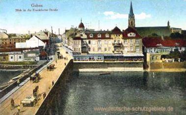 Guben, Blick in die Frankfurter Straße