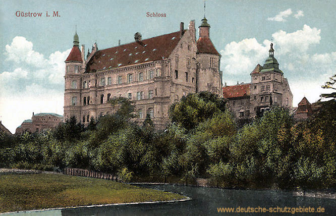 Güstrow i. M., Schloss